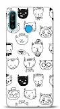 Huawei P30 Lite Cats Resimli Kılıf