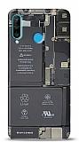 Huawei P30 Lite Devre Resimli Kılıf