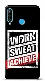 Huawei P30 Lite Work Sweat Resimli Kılıf