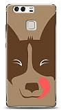 Huawei P9 Big Face Dog Kılıf