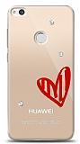 Huawei P9 Lite 2017 3 Taş Love Kılıf