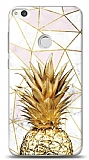 Huawei P9 Lite 2017 Gold Pineapple Kılıf