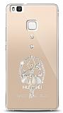 Huawei P9 Lite Balerin Taşlı Kılıf