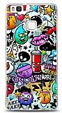 Huawei P9 Lite Grafitti 2 Kılıf