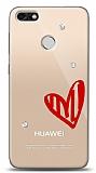 Huawei P9 Lite Mini 3 Taş Love Kılıf
