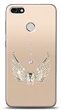 Huawei P9 Lite Mini Angel Death Taşlı Kılıf