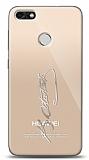 Huawei P9 Lite Mini Silver Atatürk İmza Kılıf