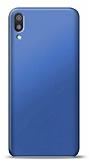 Huawei Y5 2019 Lacivert Mat Silikon Kılıf