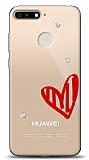 Huawei Y6 2018 3 Taş Love Kılıf