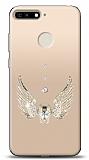 Huawei Y6 2018 Angel Death Taşlı Kılıf