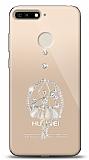 Huawei Y6 2018 Balerin Taşlı Kılıf