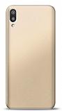 Huawei Y6 2019 Gold Mat Silikon Kılıf