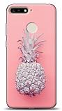 Huawei Y6 2019 / Honor 8A Pink Ananas Kılıf
