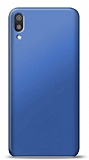Huawei Y6 2019 Lacivert Mat Silikon Kılıf