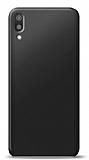 Huawei Y6 2019 Siyah Mat Silikon Kılıf