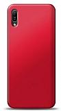 Huawei Y6s 2019 Kırmızı Mat Silikon Kılıf
