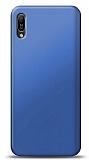 Huawei Y6s 2019 Lacivert Mat Silikon Kılıf