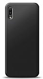 Huawei Y6s 2019 Siyah Mat Silikon Kılıf