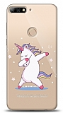 Huawei Y7 2018 Dab Unicorn Kılıf