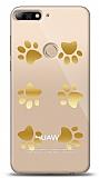 Huawei Y7 2018 Gold Patiler Kılıf