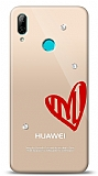 Huawei Y7 2019 3 Taş Love Kılıf