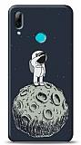 Huawei Y7 Pro 2019 Astronot Resimli Kılıf