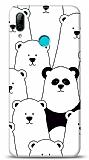 Huawei Y7 Pro 2019 Lonely Panda Resimli Kılıf