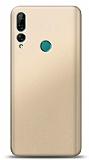 Huawei Y9 Prime 2019 / P Smart Z Gold Mat Silikon Kılıf