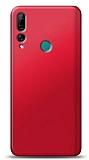 Huawei Y9 Prime 2019 / P Smart Z Kırmızı Mat Silikon Kılıf