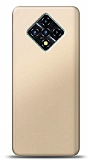 Infinix Zero 8 Gold Mat Silikon Kılıf