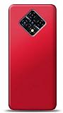 Infinix Zero 8 Kırmızı Mat Silikon Kılıf