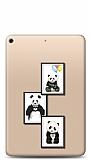 iPad 10.2 Panda Frame Resimli Kılıf