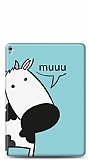 iPad Pro 9.7 İnekli Resimli Kılıf