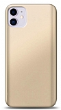 iPhone 11 Gold Mat Silikon Kılıf