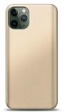 iPhone 11 Pro Gold Mat Silikon Kılıf