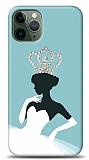 iPhone 11 Pro Max Crystal Queen Taşlı Resimli Kılıf