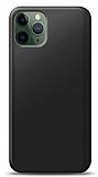 iPhone 11 Pro Siyah Mat Silikon Kılıf