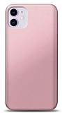 iPhone 11 Rose Gold Mat Silikon Kılıf