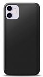 iPhone 11 Siyah Mat Silikon Kılıf