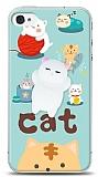 iPhone 4 / 4S Üç Boyutlu Sevimli Kedi Kılıf