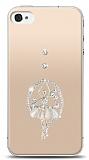 iPhone 4 / 4S Balerin Taşlı Kılıf