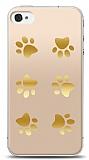 iPhone 4 / 4S Gold Patiler Kılıf