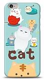 iPhone 6 / 6S Üç Boyutlu Sevimli Kedi Kılıf