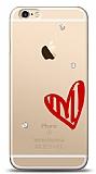 iPhone 6 / 6S 3 Taş Love Kılıf