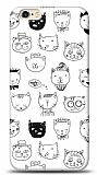 iPhone 6 / 6S Cats Resimli Kılıf