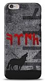 iPhone 6 / 6S Göktürkçe Türk Kırmızı Yazılı Kılıf