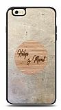 iPhone 6 / 6S Kişiye Özel Çift İsim Doğal Mermer ve Bambu Kılıf