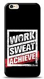 iPhone 6 / 6S Work Sweat Resimli Kılıf