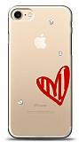 iPhone 7 / 8 3 Taş Love Kılıf