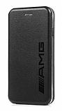 iPhone 7 / 8 AmgClass Kapaklı Siyah Kılıf
